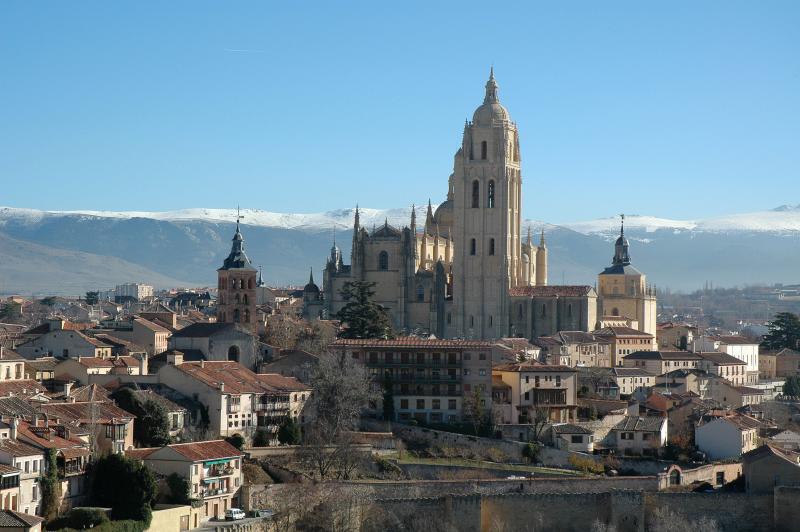 View of Segovia from the Alcazar