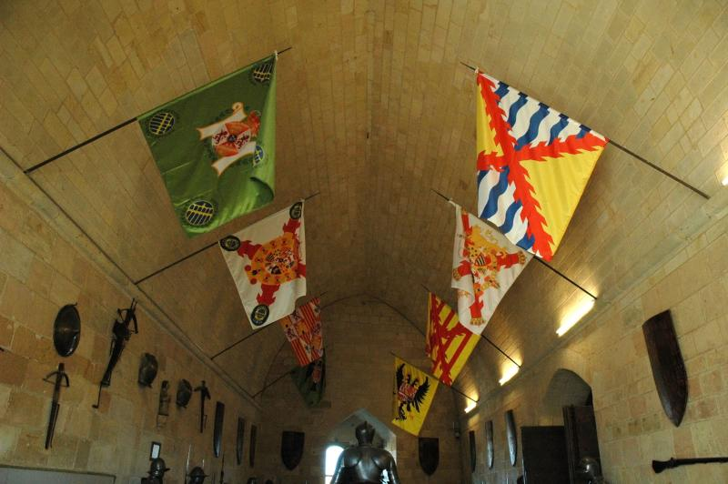 Hall of flags in the Alcazar