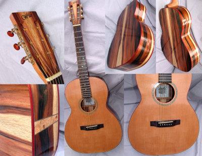 000-12 Brazilian Rosewood Guitar #3