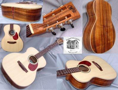 Koa 000-14 Guitar #4 (Kim's Guitar)