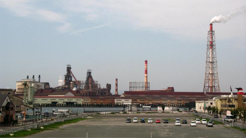 The infamous steel plant of Kokura
