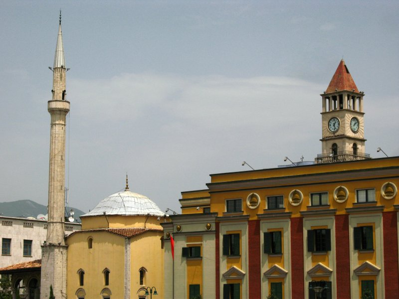 Ethem Bey Mosque and Clock Tower