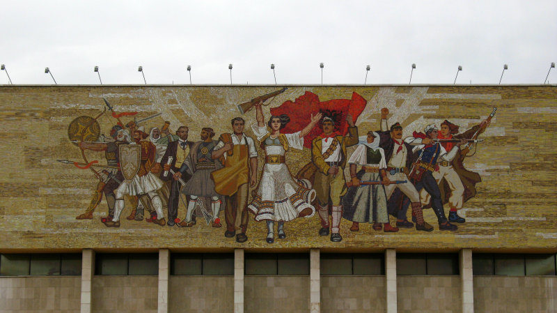 Socialist-era image on the National History Museum