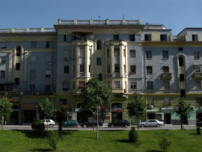 Apartment on the northern edge of Blloku