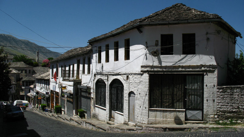 19th-century houses in the old town