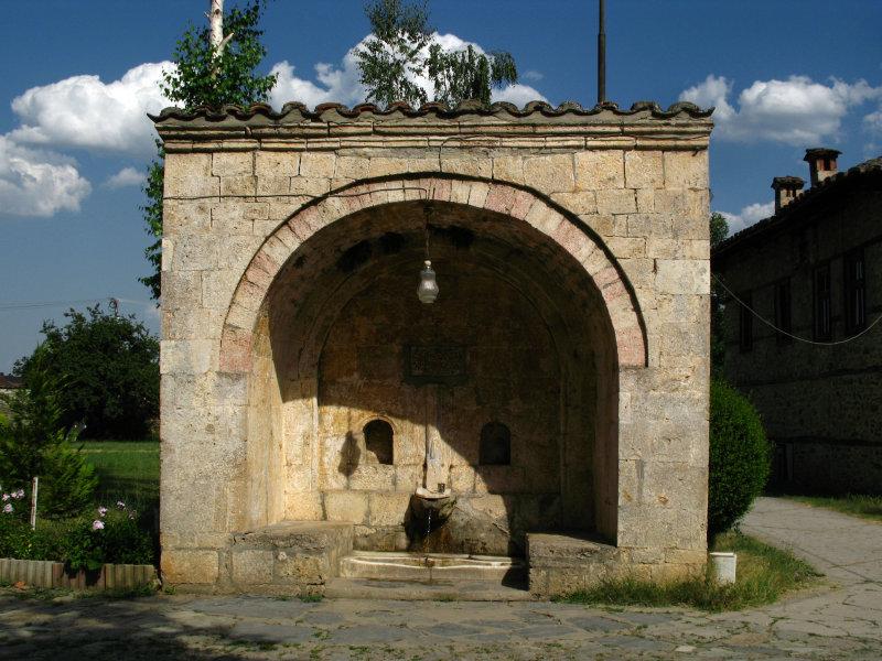 Turkish-period fountain, Baba Arabati tekke
