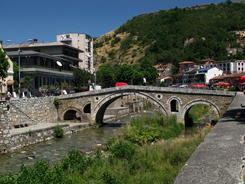 Stone Bridge over the Bistrica River
