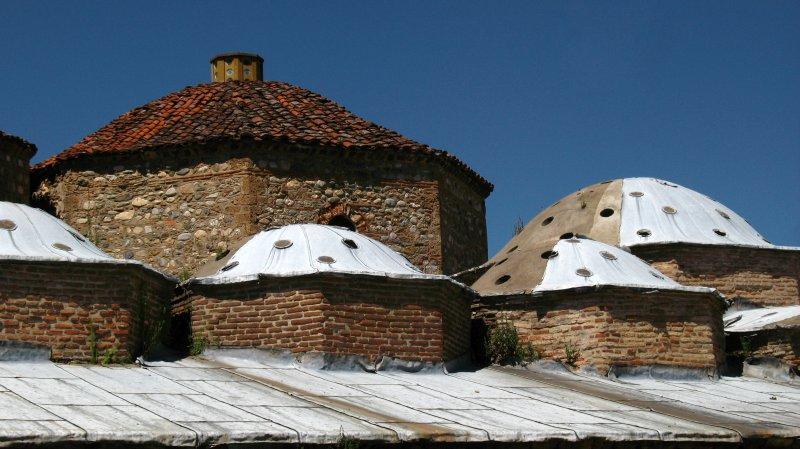 Dome detail of the Gazi Mehmet Pasha Hammam