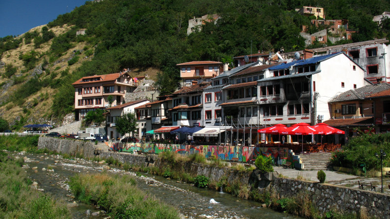 Stores along the Bistrica