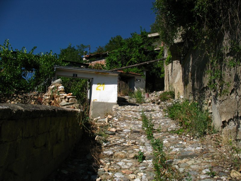 Neglected corner of the old Serbian quarter