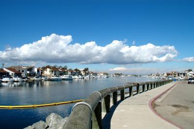 Huntington Beach public port, CA
