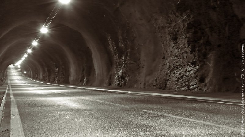 Mageroya Island Tunnel /9%, 6km long!/