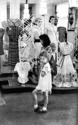 Fasion, Moscow, USSR, 1954