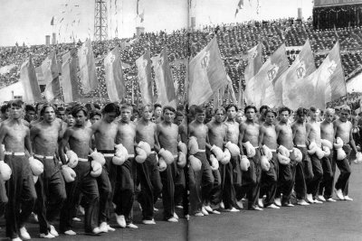 Sport Day - Moscow Boxing Federation, Moscow, USSR, 1954