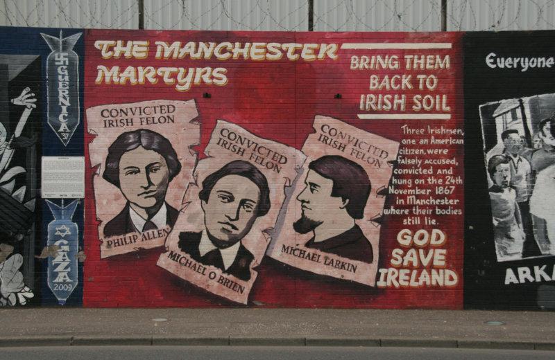 Murals at Falls Road
