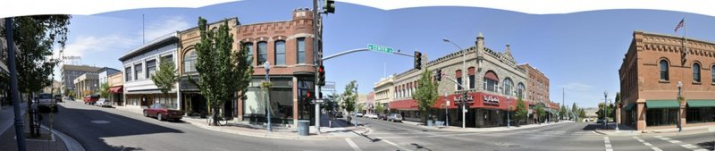 Pocatello Old Town Panorama 2008 distorted.jpg