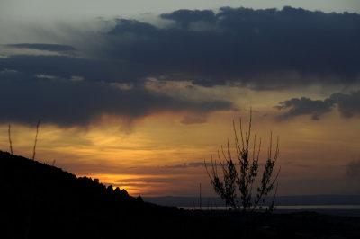 Sunset over American Falls Reservoir from Pocatello _DSC7838.jpg