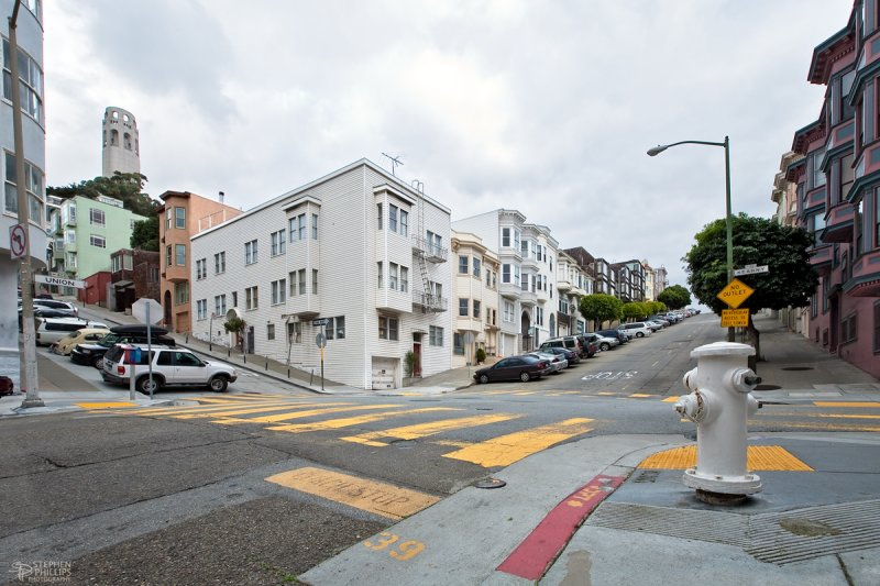 Union and Kearny Streets - San Francisco