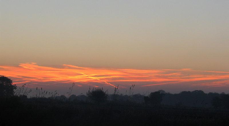 Norfolk sunrise.
