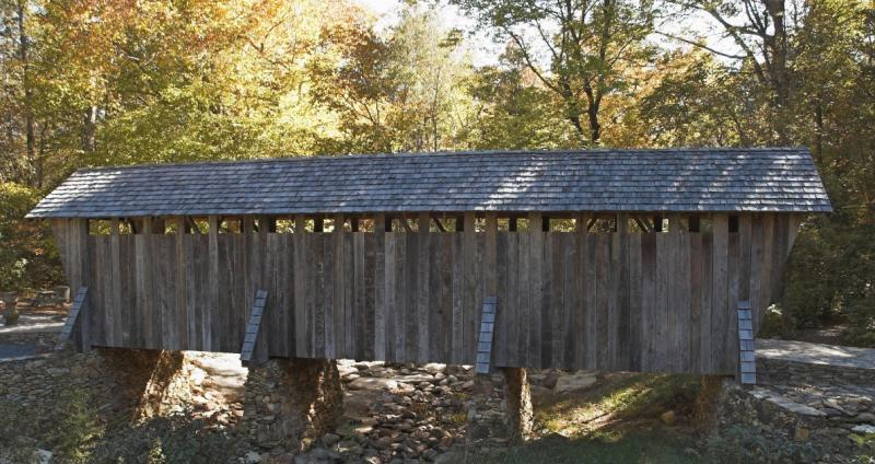 pisgah covered bridge 3