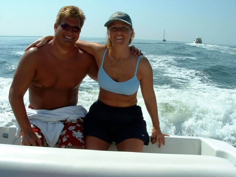 Mike & Beth vacation at Captiva Island