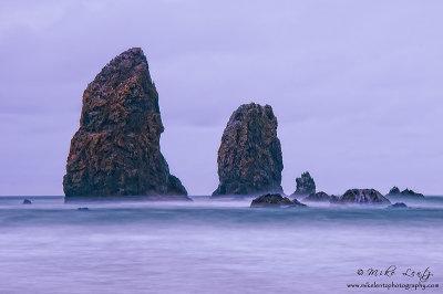 Oregon sea stacks