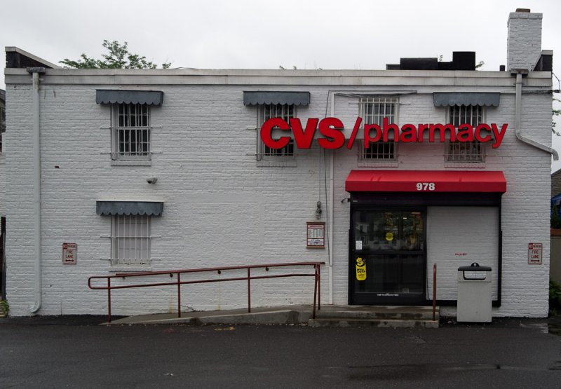 Back entrance CVS West Hartford, Center