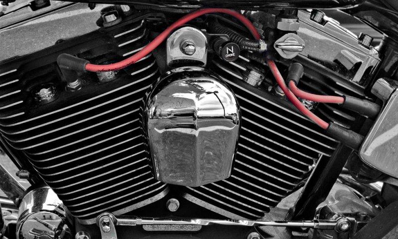 Harley Davidson V2 #2