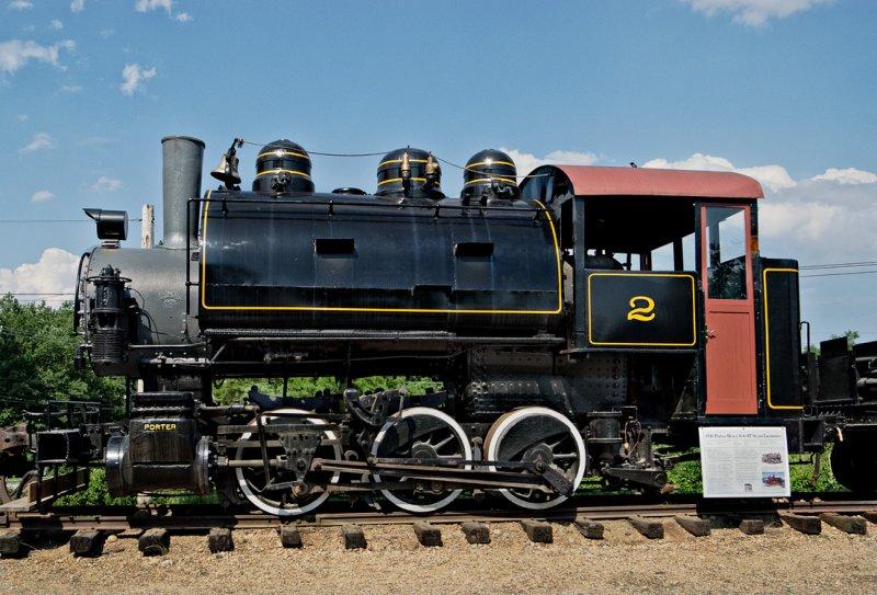 1941 Porter 0-6-0T Steam Locomotive