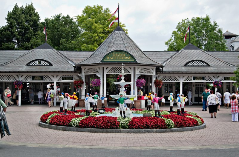 Saratoga Race Course - Clubhouse Entrance