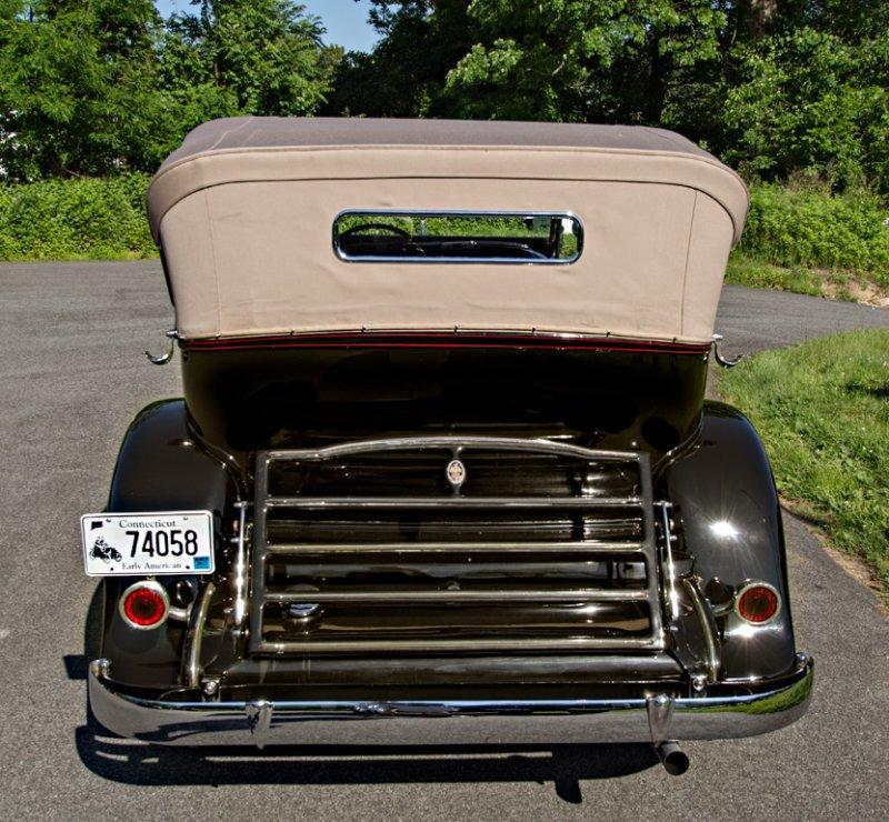 1934 Packard Dual Cowl Sport Phaeton #7