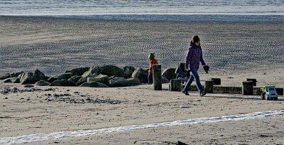 Winter at Old Saybrook Beach