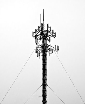 The ubiquitous face of modern phone communication. - Faces #23