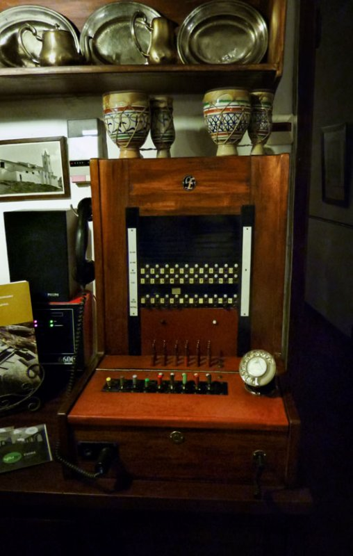 Old Phone Panel