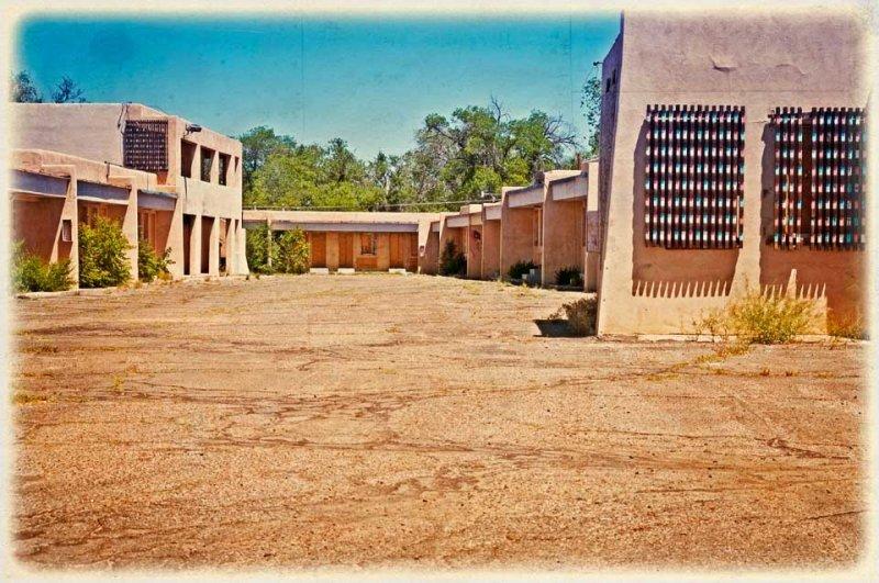 Abandoned motel, Albuquerque