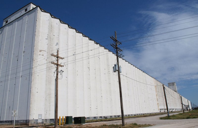 The worlds longest grain elevator.