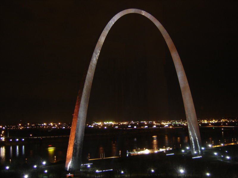 Night View of Arch