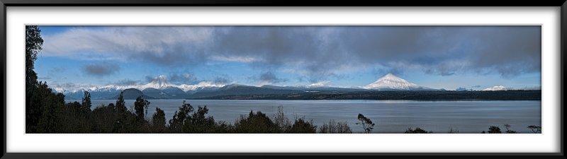 Volcanes Puntigudo, Osorno y Calbuco y Lago Rupanco I