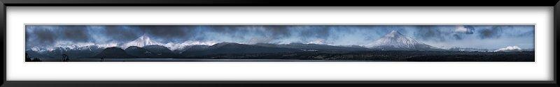 Volcanes Puntigudo, Osorno y Calbuco y Lago Rupanco II