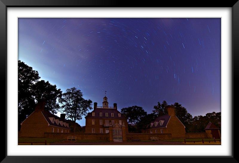 Irenes Sky Over Colonial Williamsburg (Post Hurricane)