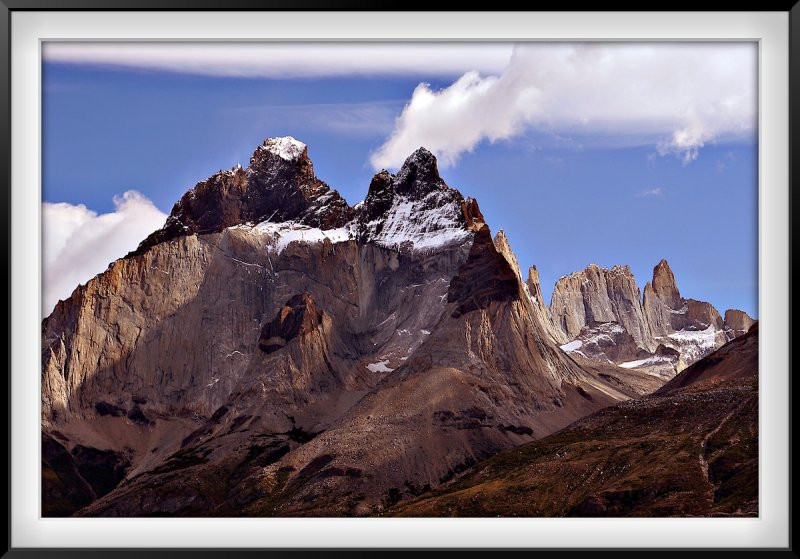 Patagonia: Cuernos del Paine - Bare Geology