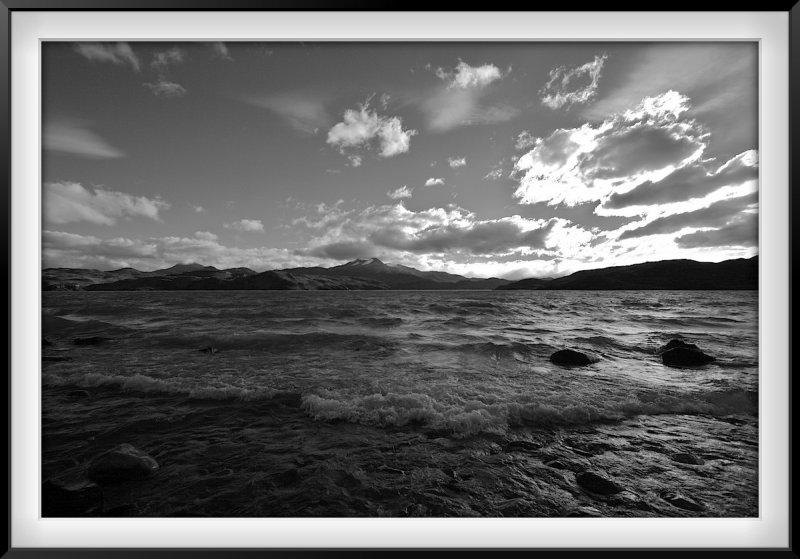 Patagonia: Big Sky above Lake Pehoe and Torres
