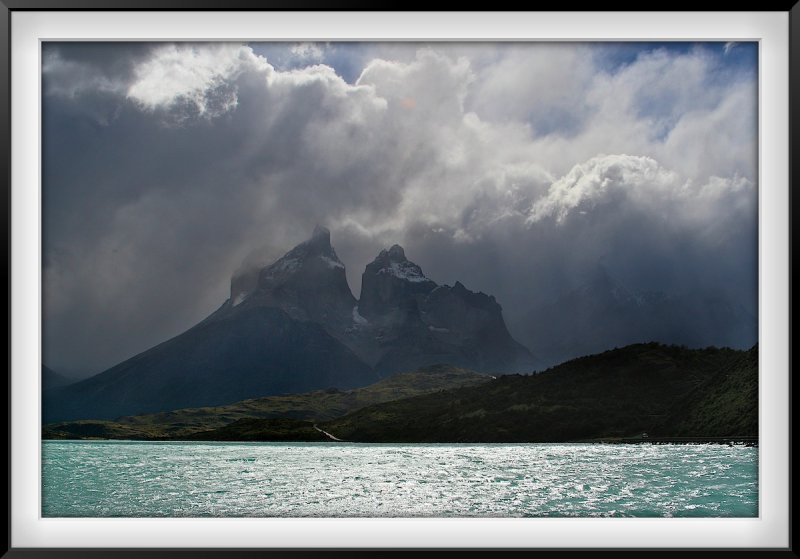 Patagonia: Storm over the Cuernos del Paine
