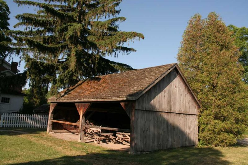 PRESERVED BARN/SHED