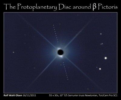The debris disc around Beta Pictoris