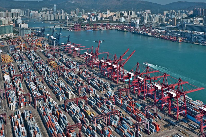 The Kwai Chung Container Terminal