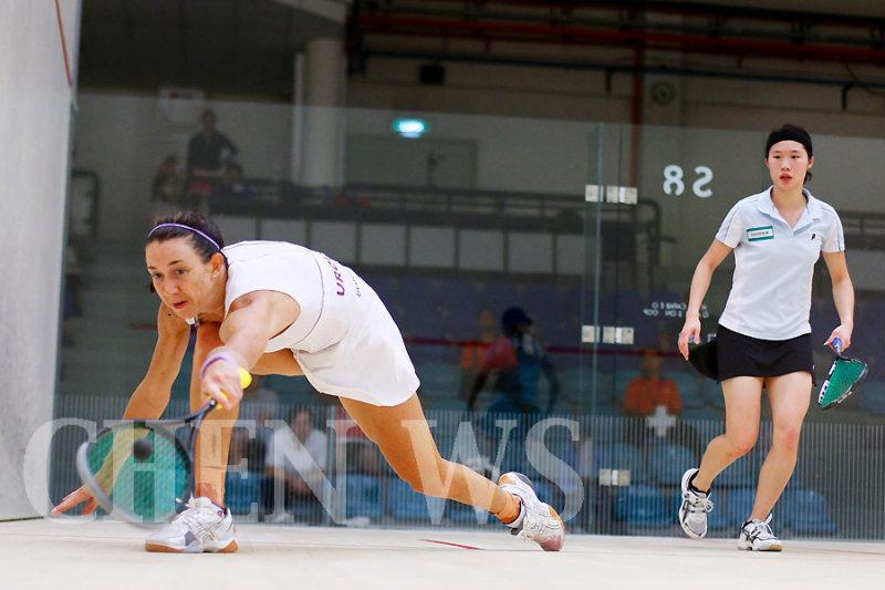 Donna Urquhart (Aus) vs Joey Chan (HK)