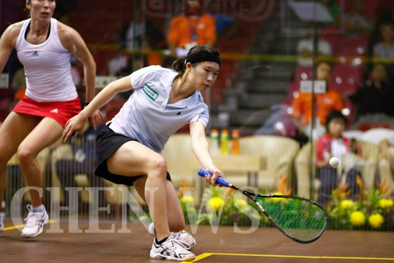 Joey Chan (HK) vs Madeline Perry (Irl)