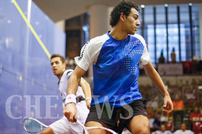 Mohamed El Shobagy (Egy) vs Mohd Azlan Iskandar (Mas)
