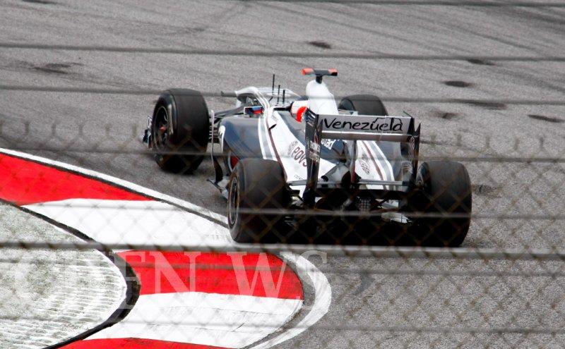 AT & T Williams Ruben Barrichelo